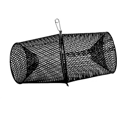 Black minnow trap for snakes
