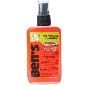 Ben's 30 Deet Tick & Insect Wilderness Formula