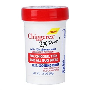 Chiggerex 2X Power Medicated Ointment