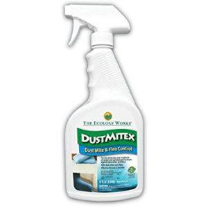 DustMitex Ready-To-Use Liquid on the white.