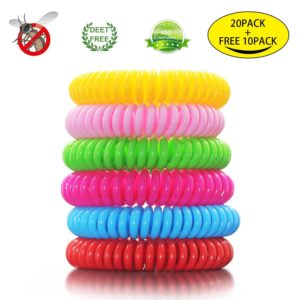 Bracelet-20-20-Pack-Mosquito-Repellent-Bracelet-100%-Natural-Plant-Based