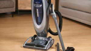 Vacuum working in house.