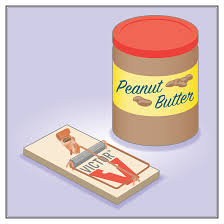 brilliant Peanut butter or Hazelnut trap for mouse