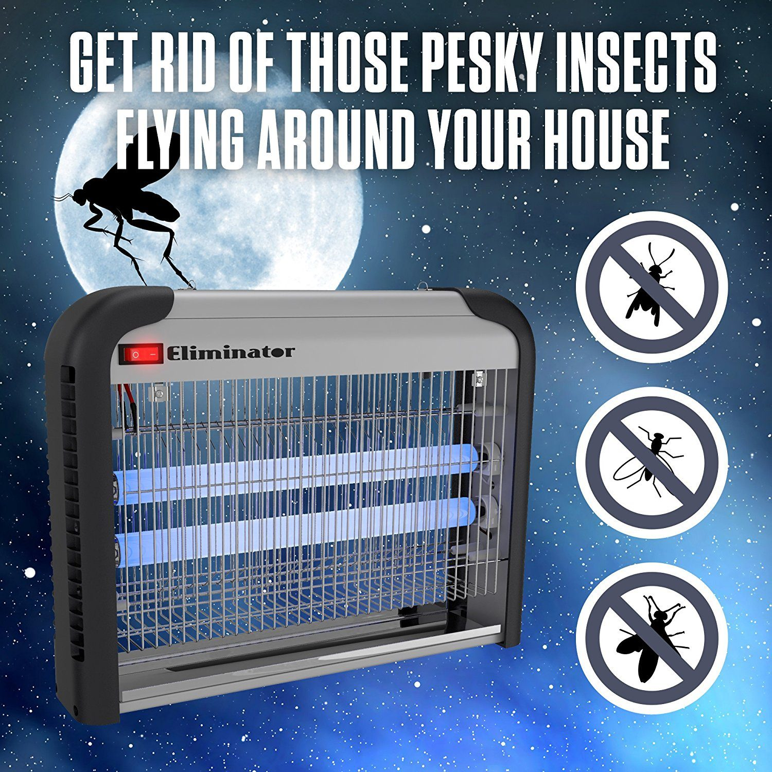 amazing indoor bug zappers