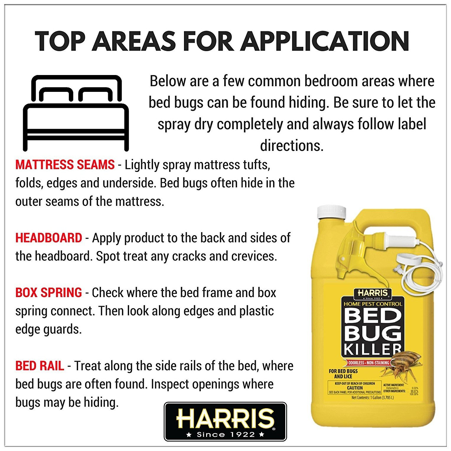 Harris Bed Bugs Killer Spray Does The Job For You Pestwiki