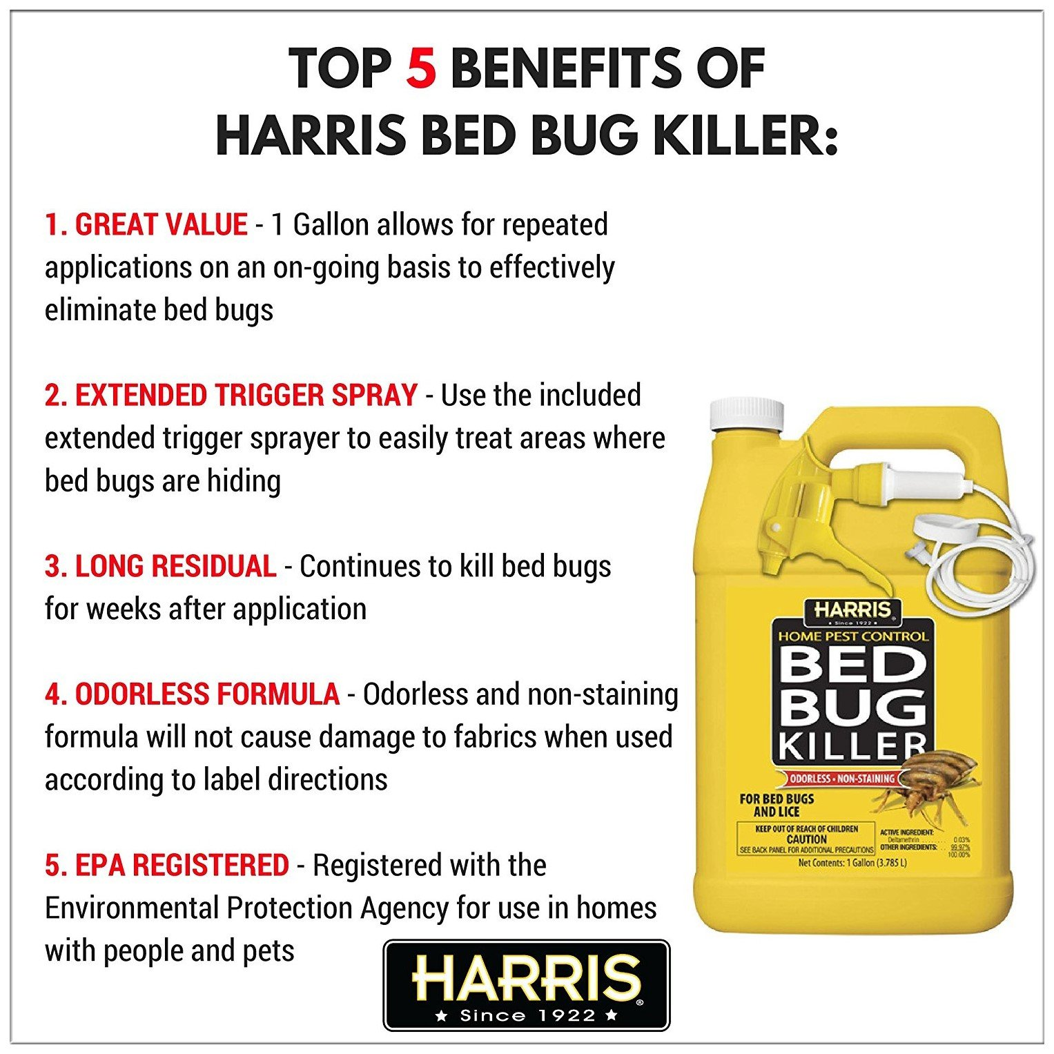 Harris Bed Bugs Killer Review 2019 Does It Really Work Pest Wiki