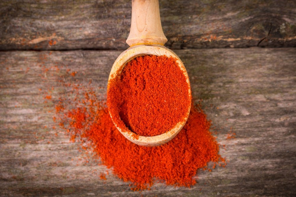Mixture of Cayenne pepper and Water
