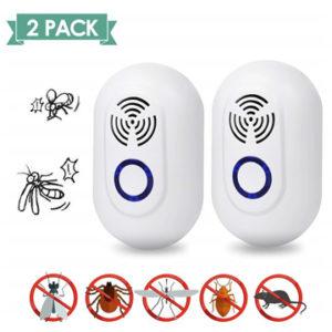 SUNNEST Ultrasonic Pest Repel 2 Pack