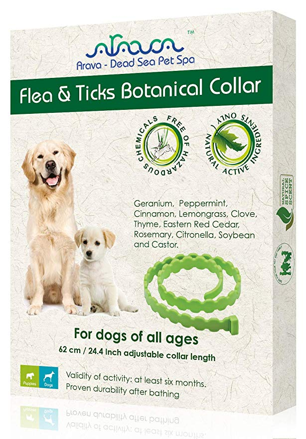 Flea and Ticks Botanical Collar by Arava