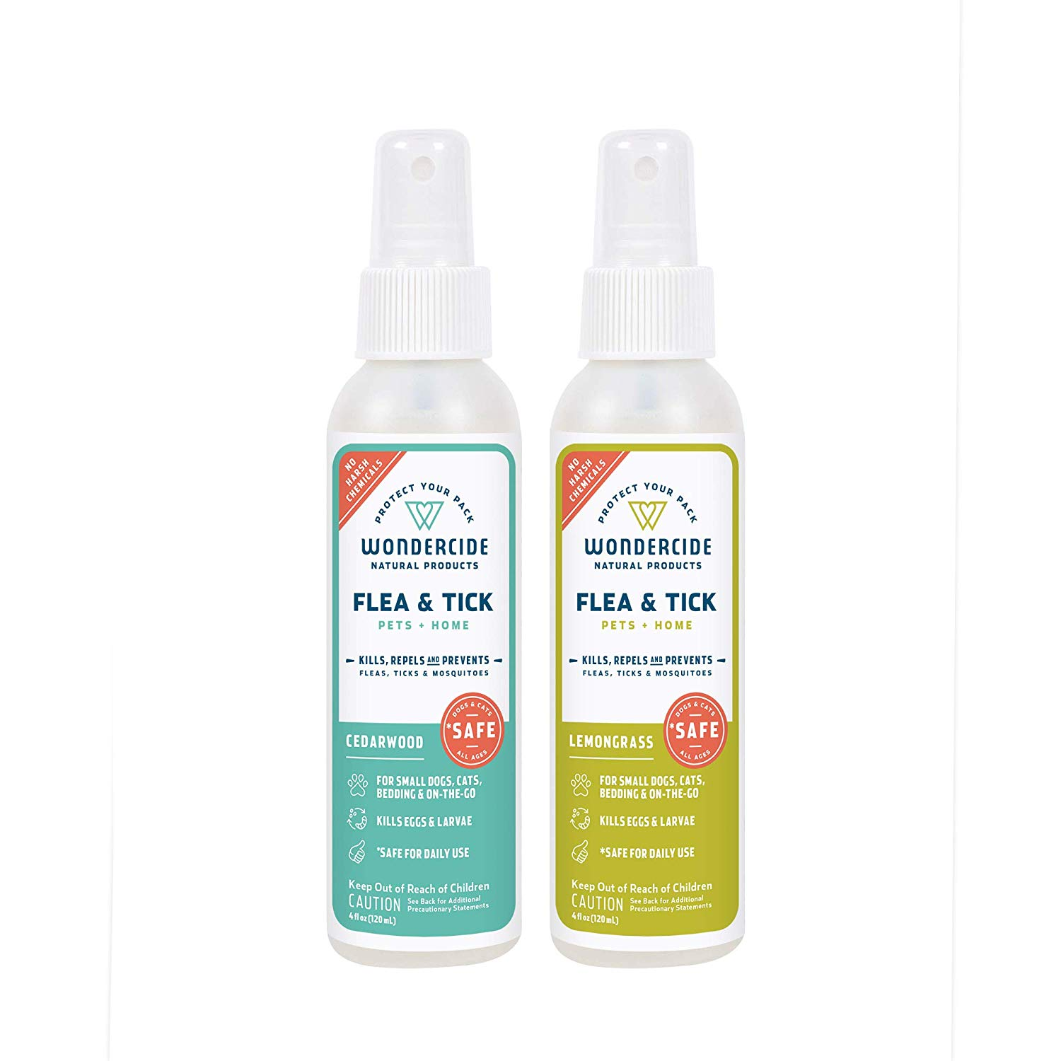 Best Natural Preventive Spray: Wondercide Flea, Tick & Mosquito Control Spray for Cats Dogs & Home