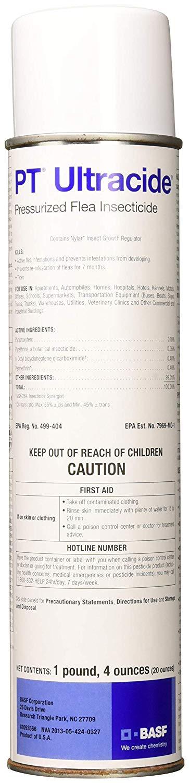 BASF 671858 PT Ultracide Pressurized Flea Insecticide, 20oz