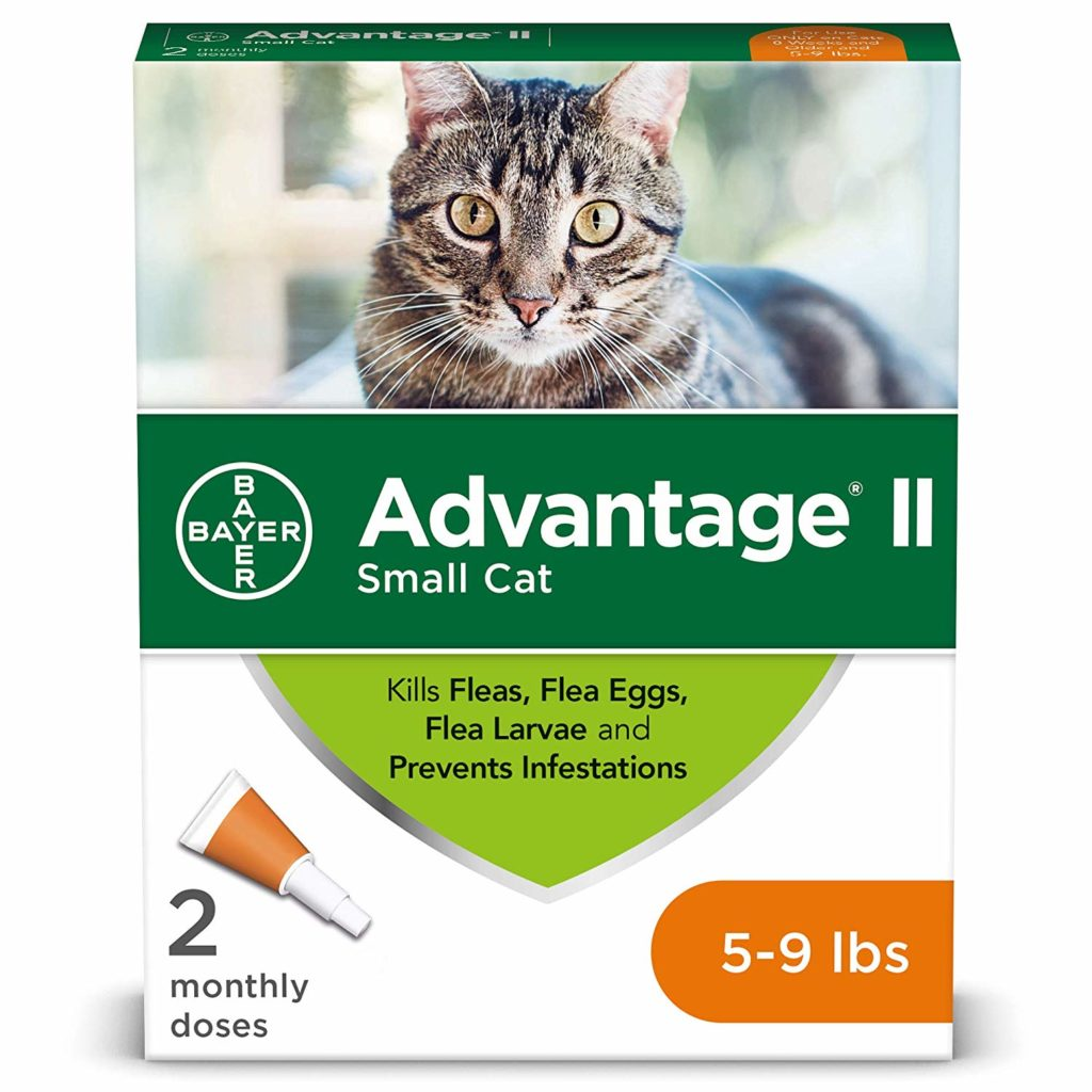 Best Topical Solution: Bayer Advantage II Flea Prevention for Cats