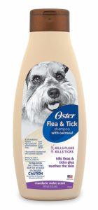 Oster Oatmeal Naturals Flea and Tick Shampoo