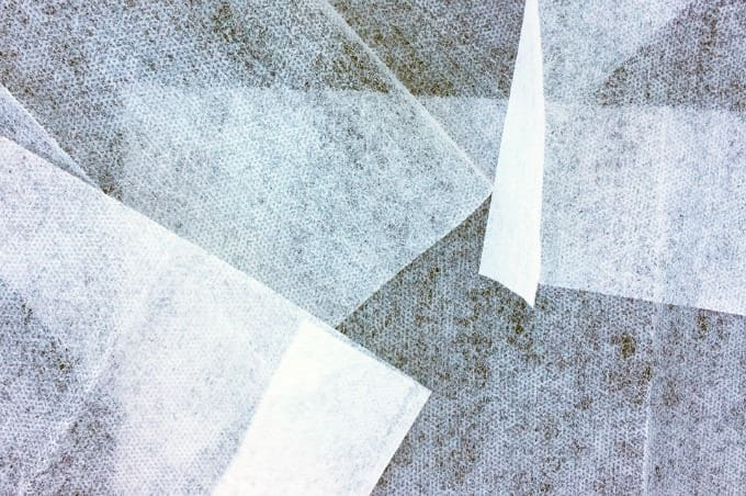 pieces of dryer sheets