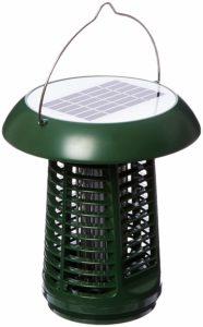 Sandalwood NK63 Solar-Powered UV Bug Zapper & LED Garden Lamp — The Best Portable Bug Zapper