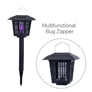 YIER Solar-Powered Outdoor Insect Killer