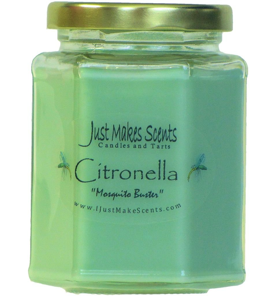 Citronella (Mosquito Repellant) Scented Blended Soy Candle
