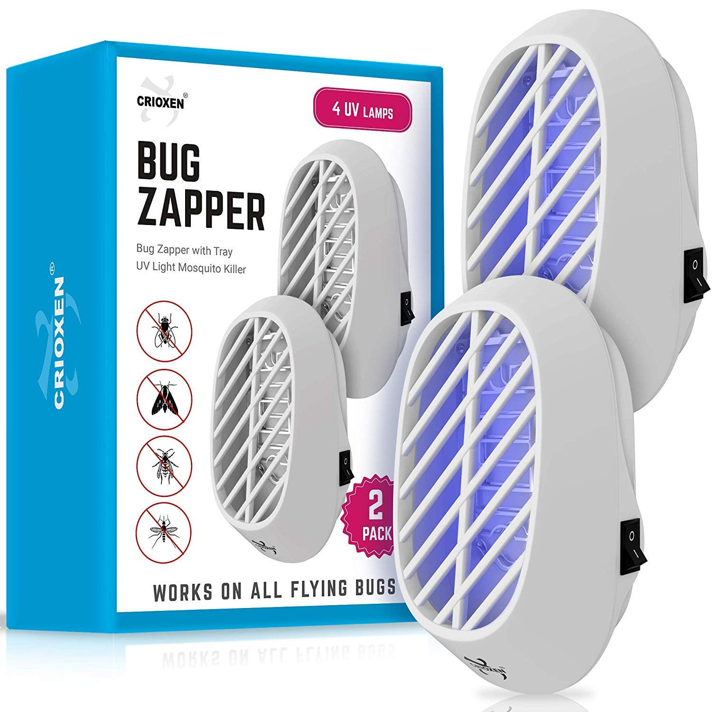 Crioxen Indoor Plug-in Bug Zapper – Mosquito Trap with UV Light