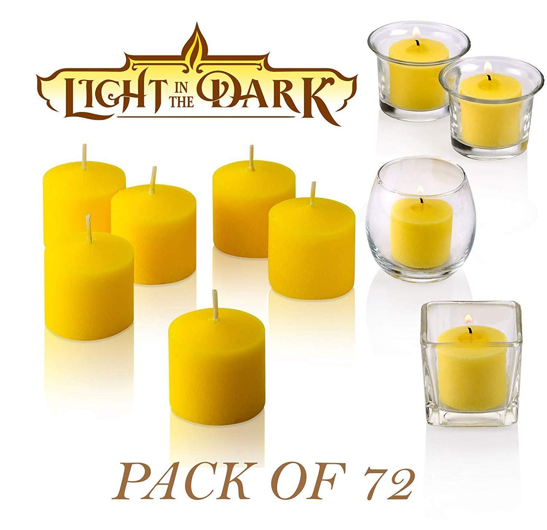Light in the Dark Votive Citronella Candles