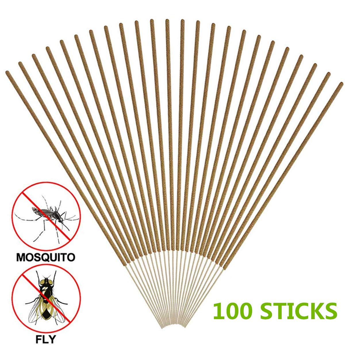 COSYWORLD Mosquito Repellent Sticks Natural Insect Repellent Incense Sticks