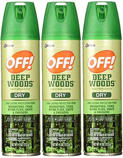 Off! Deepwoods VIII, with 25 percent DEET