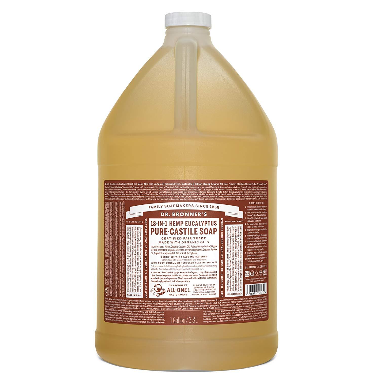 Dr. Bronner's Eucalyptus Castile Liquid Soap