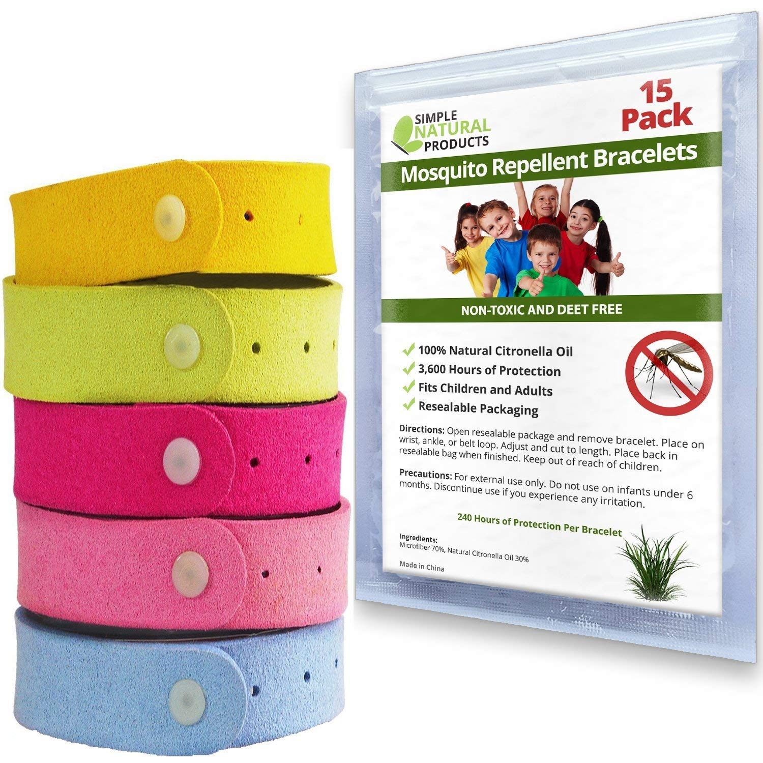 Mosquito Repellent Bracelet by Simple Natural Products