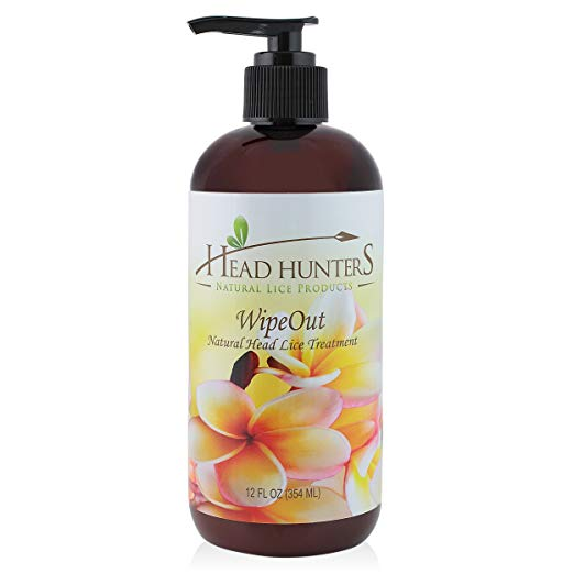 Wipe Out – Natural Head Lice Treatment by Head Hunters